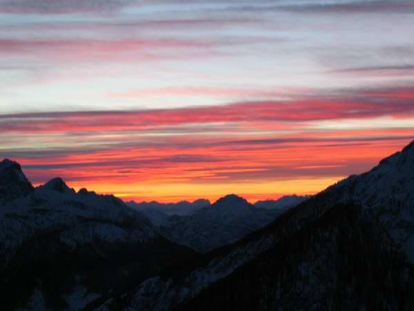 Sunset from Mt.Lussari 015